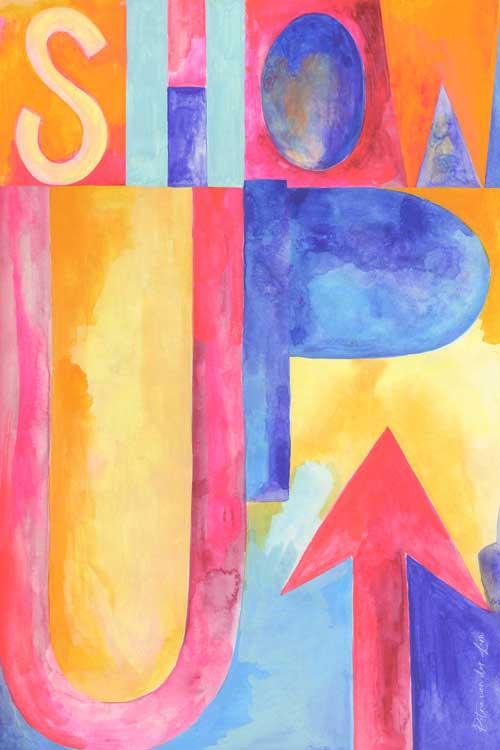 SHOW UP! - Petra van der Lem